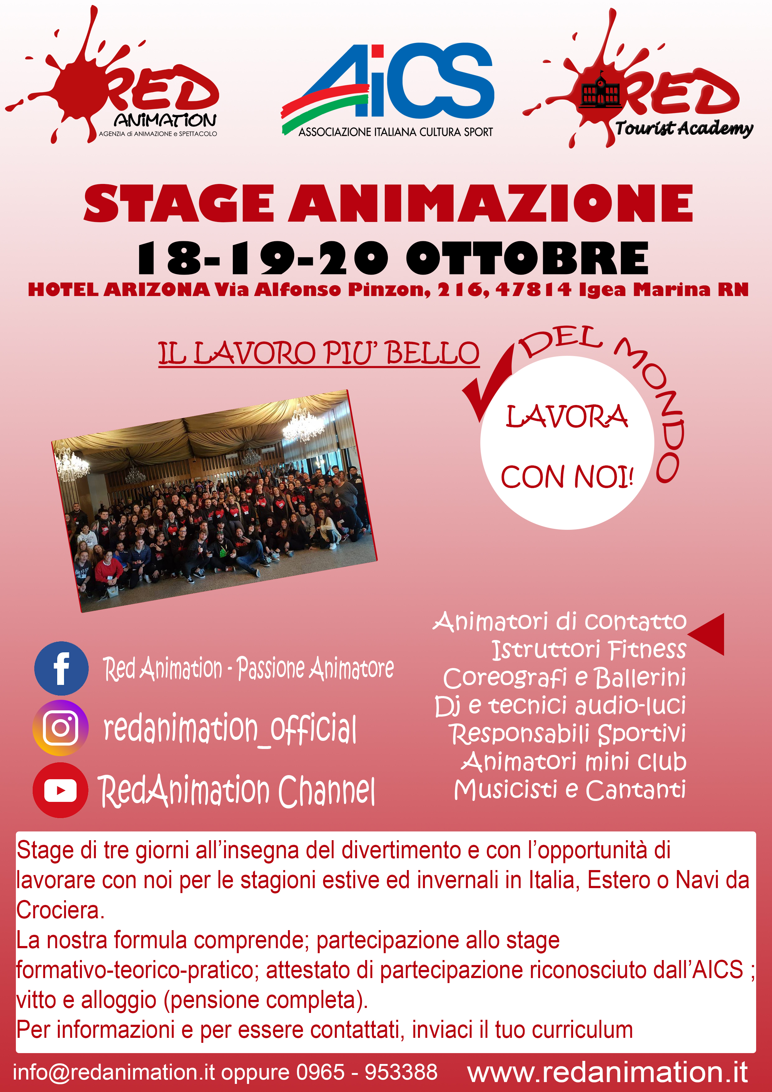 locandna stage social